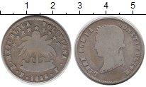 Изображение Монеты Боливия 1/2 соля 1853 Серебро VF