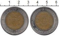 Изображение Монеты Намибия 10 долларов 2010 Биметалл XF+