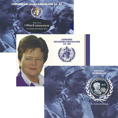 Изображение Подарочные монеты Замбия 5000 квач 1998 Серебро Proof