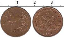 Изображение Монеты Тринидад и Тобаго 1 цент 1979 Бронза XF+