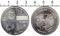 Изображение Монеты Испания 30 евро 2014 Серебро UNC