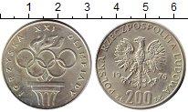 Изображение Монеты Польша 200 злотых 1976 Серебро UNC