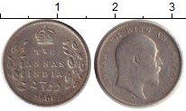Изображение Монеты Индия 2 анны 1906 Серебро VF+