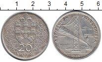 Изображение Монеты Португалия 20 эскудо 1996 Серебро XF
