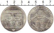 Изображение Монеты Австрия 100 шиллингов 1976 Серебро UNC-