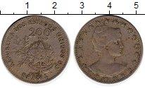 Изображение Монеты Бразилия 200 рейс 1901 Медно-никель XF-