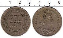 Изображение Монеты Бразилия 400 рейс 1930 Медно-никель XF