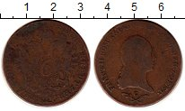 Изображение Монеты Австрия 6 крейцеров 1800 Медь VF
