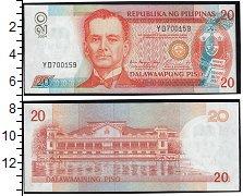 Изображение Банкноты Филиппины 20 песо 2012  UNC