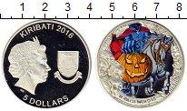 Изображение Монеты Кирибати 5 долларов 2016 Серебро Proof