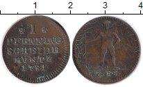 Изображение Монеты Германия Брауншвайг-Люнебург-Каленберг-Ганновер 1 пфенниг 1781 Медь XF