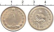 Изображение Монеты Иран 1 риал 1932 Серебро XF+