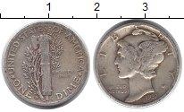 Изображение Монеты США 1 дайм 1937 Серебро XF