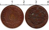Изображение Монеты Перу 1 сентаво 1941 Бронза XF