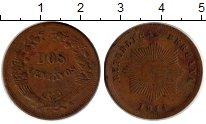 Изображение Монеты Перу 2 сентаво 1944 Бронза XF