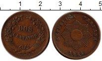 Изображение Монеты Перу 2 сентаво 1934 Бронза XF