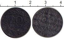 Изображение Монеты Польша 20 грош 1923 Железо VF