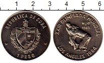 Изображение Монеты Куба 1 песо 1983 Медно-никель UNC-