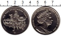 Изображение Монеты Виргинские острова 1 доллар 2014 Медно-никель UNC-