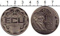 Изображение Мелочь Нидерланды 10 экю 1991 Медно-никель UNC-