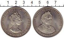 Изображение Монеты Великобритания Остров Святой Елены 50 пенсов 2000 Медно-никель UNC-
