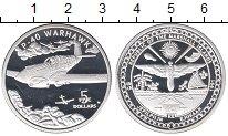 Изображение Монеты Маршалловы острова 5 долларов 1991 Серебро Proof-