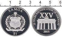 Изображение Монеты Самоа 1 доллар 2015 Серебро Proof-