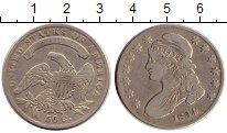 Изображение Монеты США 50 центов 1834 Серебро XF