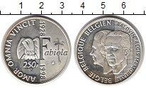 Изображение Монеты Бельгия 250 франков 1998 Серебро Proof-