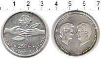 Изображение Монеты Бельгия 250 франков 1999 Серебро UNC-