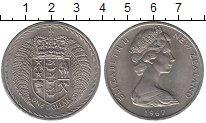 Изображение Монеты Новая Зеландия 1 доллар 1967 Медно-никель UNC-
