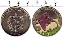 Изображение Монеты Куба 1 песо 1994 Медно-никель UNC-