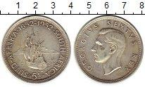 Монета ЮАР 5 шиллингов Серебро 1952 XF фото