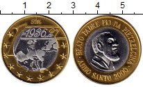 Изображение Монеты Италия Медаль 2000 Биметалл UNC-