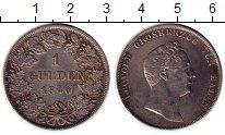 Изображение Монеты Баден 1 гульден 1840 Серебро XF