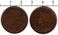Изображение Монеты Канада 1 цент 1918 Бронза XF