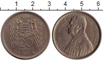 Изображение Монеты Монако 20 франков 1947 Медно-никель XF