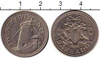 Изображение Монеты Барбадос 25 центов 1973 Медно-никель XF