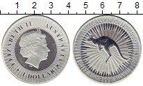 Изображение Монеты Австралия 1 доллар 2017 Серебро UNC