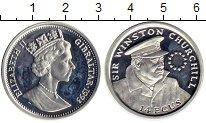 Изображение Монеты Великобритания Гибралтар 14 экю 1993 Серебро Proof-