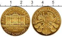 Изображение Монеты Австрия 1000 шиллингов 1995 Золото UNC