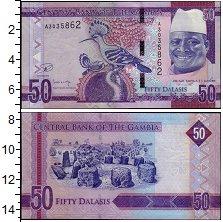 Изображение Банкноты Гамбия 50 даласи 0  UNC-