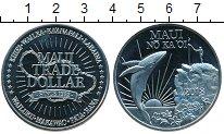 Изображение Мелочь США Гавайские острова 1 доллар 2018 Медно-никель UNC