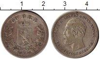 Изображение Монеты Швеция 50 эре 1893 Серебро XF