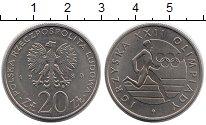 Изображение Монеты Польша 20 злотых 1980 Медно-никель UNC-