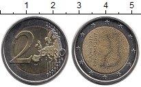 Изображение Монеты Финляндия 2 евро 2017 Биметалл UNC-