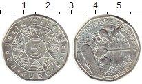 Изображение Монеты Австрия 5 евро 2010 Серебро UNC-