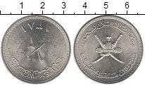 Изображение Мелочь Оман 1 доллар 1381 Серебро XF+