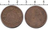 Изображение Монеты Канада Нью-Брансуик 1 цент 1864 Медь VF