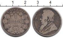 Изображение Монеты ЮАР 1 шиллинг 1892 Серебро VF